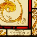 Victorian Stained Glass Window - 517 Close Up 1