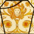 Victorian Stained Glass Window - 517 Close Up 2