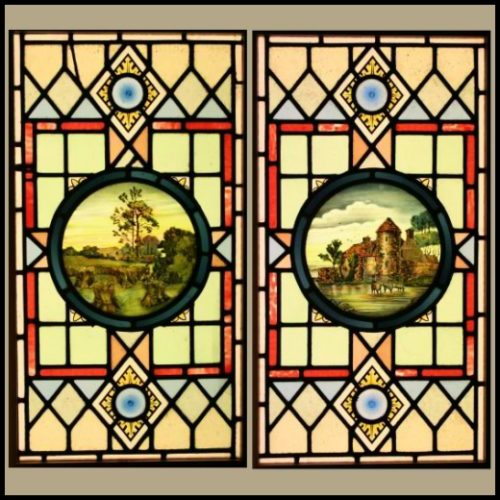 leaded glass windons