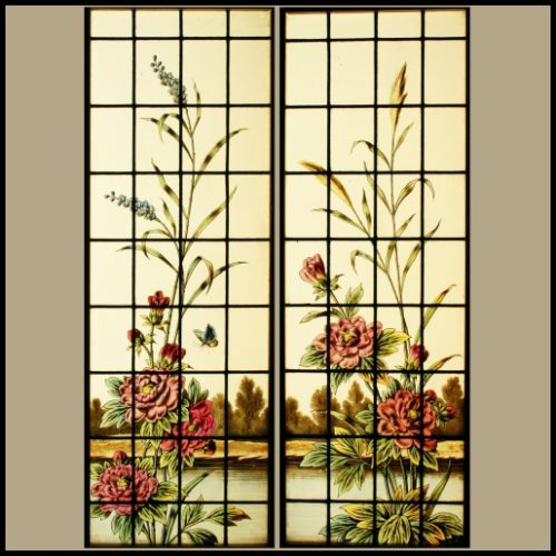 Antique Stained Glass Widnows