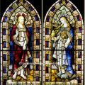 pair of Church windows