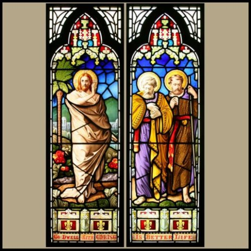 Antique Church windows