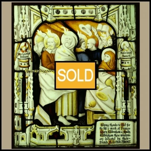 Antique Church Stained Glass