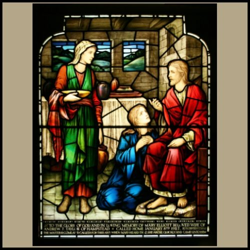 Morris & Co Stained glass window