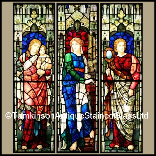 Henry Holiday stained glass