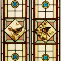 Leaded door panels