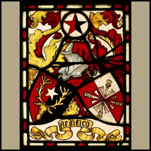 Coat of Arms stained glass