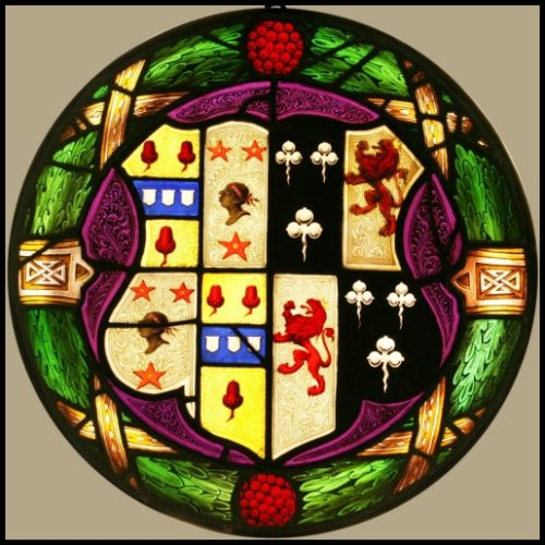 Heraldic ~ Coat of Arms ~ Armorial stained glass
