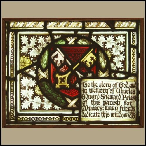 Charles E. Kempe stained glass