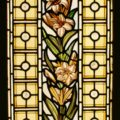 Hand painted stained glass