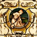 Swaine Bourne stained glass
