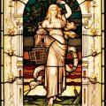 Pre-Raphaelite lady