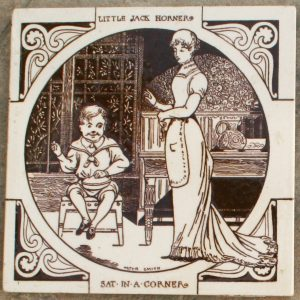 Little Jack Horner - John Moyr Smith Tiles
