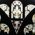 Tracery stained glass
