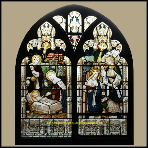 Church stained glass window