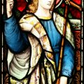 St Faith Stained Glass Window