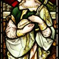 St Hope stained glass window