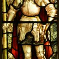 St George stained glass window