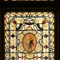 Fortuna stained glass window