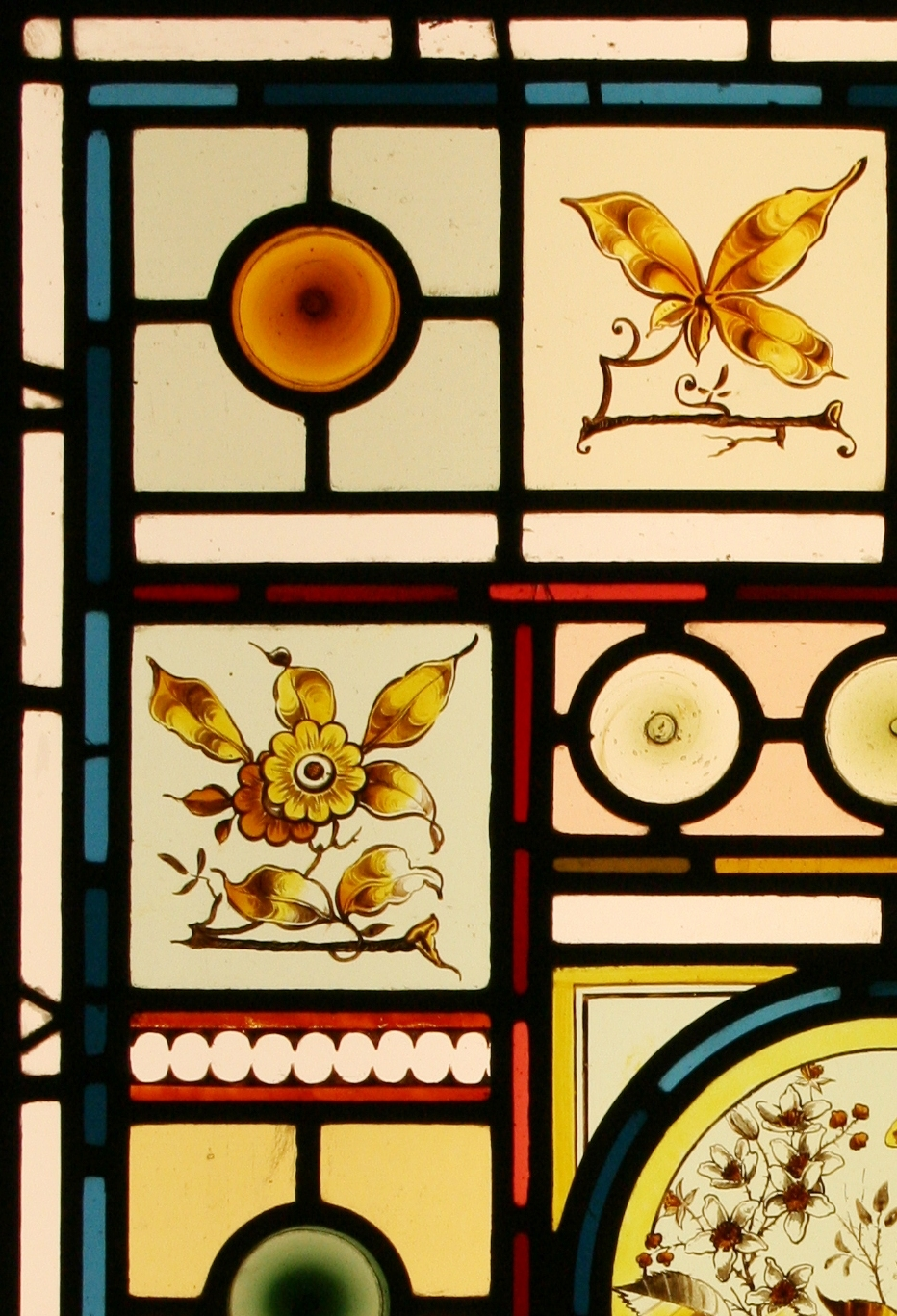 Ref Vic542 Victorian Stained Glass Window Aesthetic