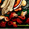 Mary & the seven headed serpent