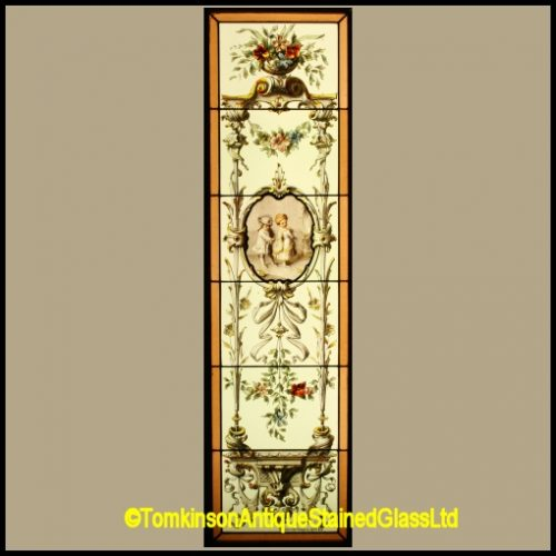 French Stained Glass Window