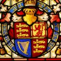 Royal Coat of Arms Stained Glass