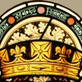 Lancaster Coat of Arms Stained Glass