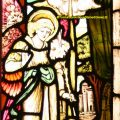 Angel Gabriel Stained Glass