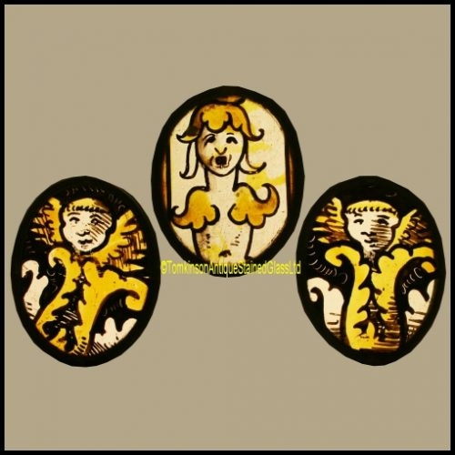 16th Century Stained Glass Angels