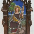 Gothic Stained Glass Screen