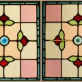 Leaded Coloured Glass Windows