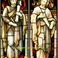 St Matthew, St Mark church windows
