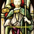 St Maurice stained glass window