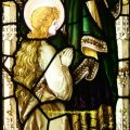 St Anne and Mary stained glass