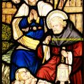 The Nativity Stained Glass Window