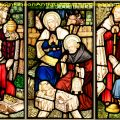Adoration of the Magi Stained Glass