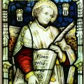 St Mark stained glass window