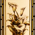 Arum-lily - Victorian Stained Glass Window