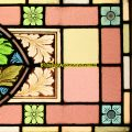 Hand Painted Victorian Stained Glass