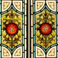 Stained Glass Door Panels