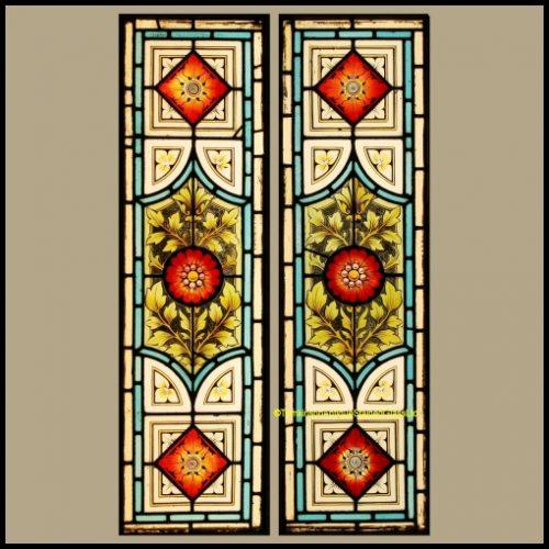 Pair of Victorian Door Panels