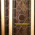 Leaded stained glass