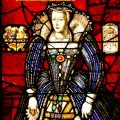 Mary Queen of Scots stained glass by Thomas Willement