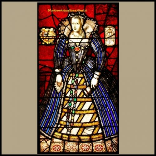 Mary Queen of Scots stained glass