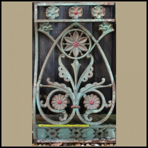 Christopher Dresser Cast Iron Balustrades