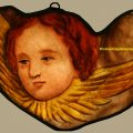 Antique Angel Stained Glass