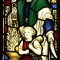 Abraham and Isaac Stained Glass By C.E. Kempe & Co. Ltd.