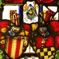 Armorial Heraldic Coat of Arms Stained Glass