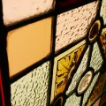 Leaded Coloured Stained Glass